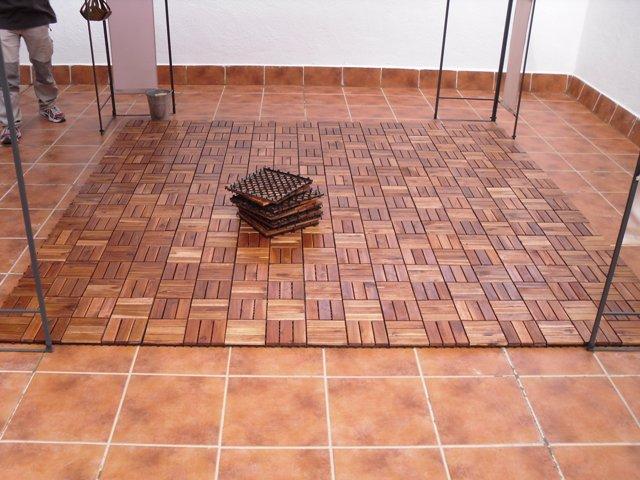 Casas cocinas mueble pinturas plasticas - Suelos para terraza ...